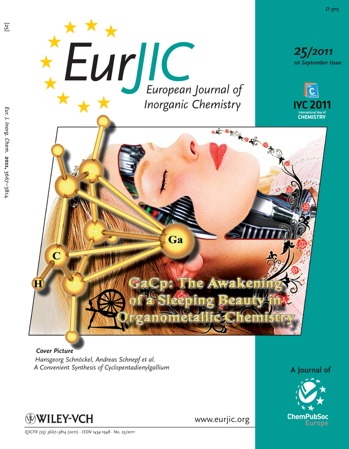 Cover Picture European Journal of Inorganic Chemistry 2011