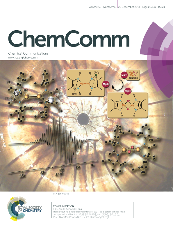 Cover Picture Chemical Communication 2014