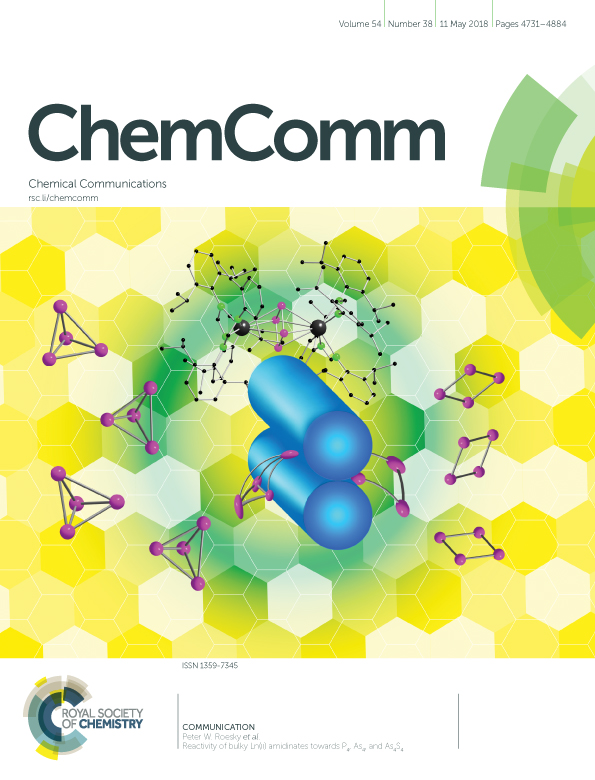 Cover Chemical communications 2018